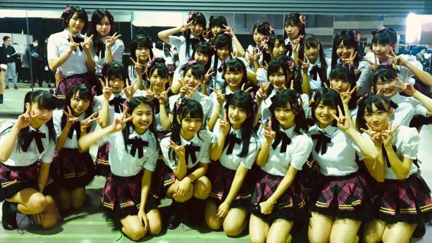 AKB48グループリクエストアワー2019よる公演の模様