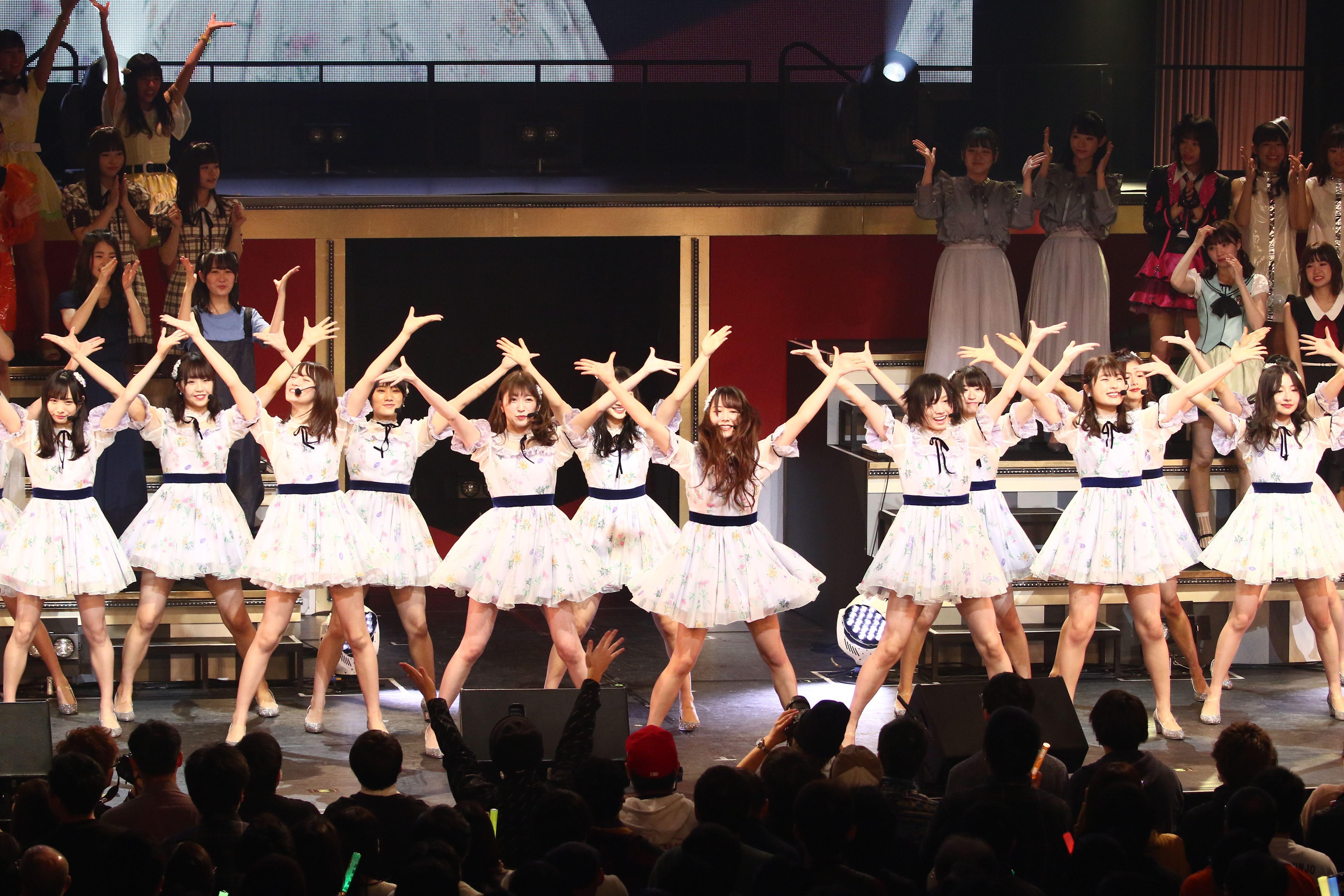 【NMB48】AKB48グループリクエストアワー2019 TOP75位〜51位の順位、ライブ画像、裏配信の様子など。