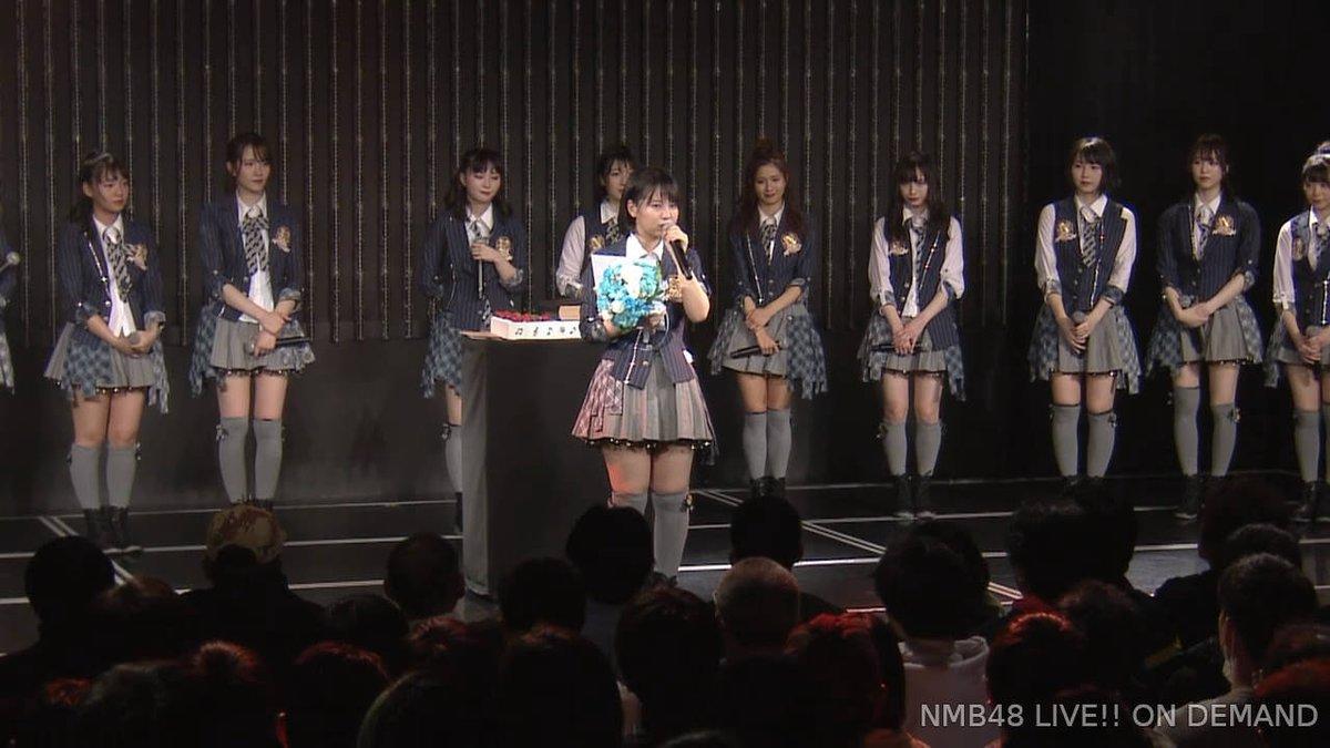 【NMB48】本郷柚巴16歳の生誕祭まとめ。音楽の道と選抜を目指して。【手紙コメント全文有】