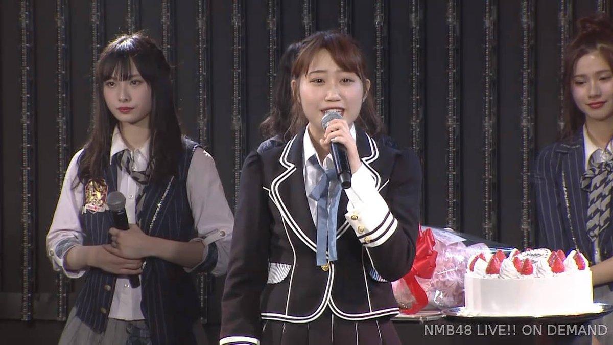 【NMB48】日下このみ生誕祭・卒業公演まとめ。これからの人生みんな…よろしくやで【手紙・コメント全文有】