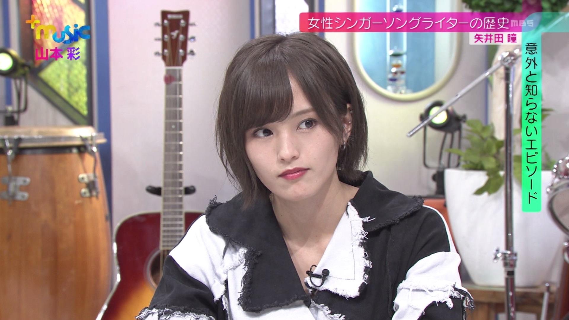 """【山本彩】さや姉出演、1月28日MBS「+music」キャプ画像。""""盟友""""かまいたち・濱家さんの「レインボーローズ」エピソードも。"""