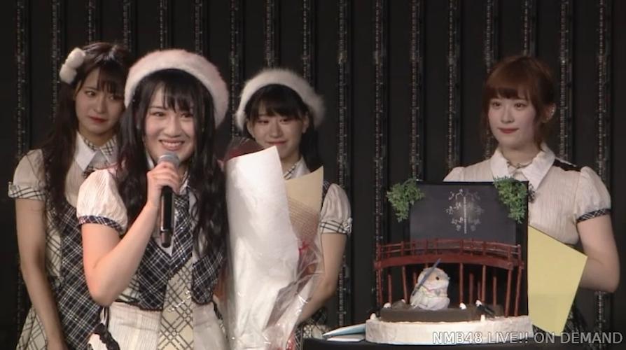 【NMB48】久代梨奈20歳の生誕祭まとめ。二十歳といういい年齢で最高の一年を【手紙・コメント全文有】