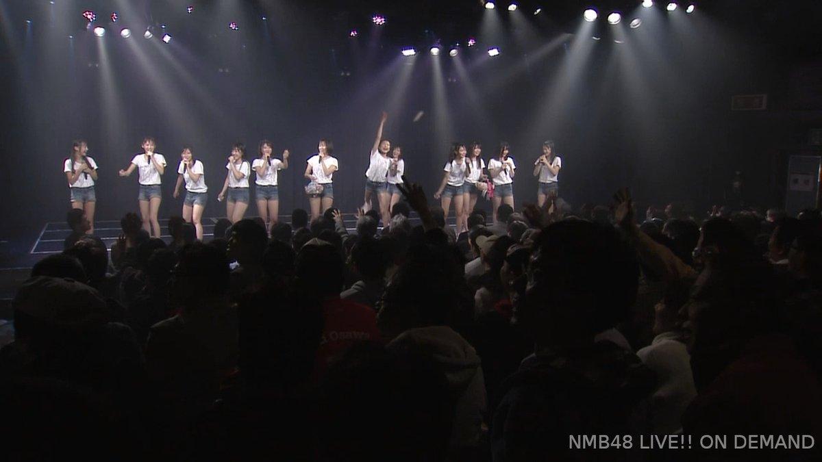 【NMB48】2月3日は節分ということで、夢は逃げない公演最後は豆まき!ほりのーうちー(⌒▽⌒)/゜°。゜。°゜