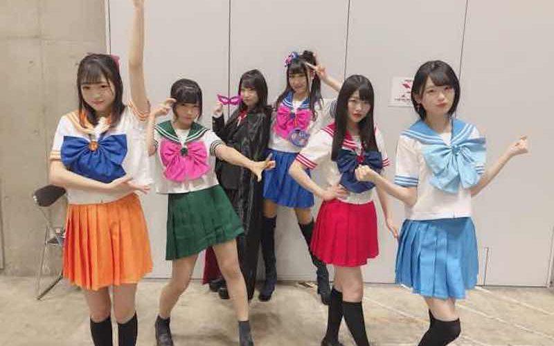 【NMB48】2月17日の握手会、6期レンジャーがコスプレ寸劇で「床の間正座娘」劇場盤の宣伝。