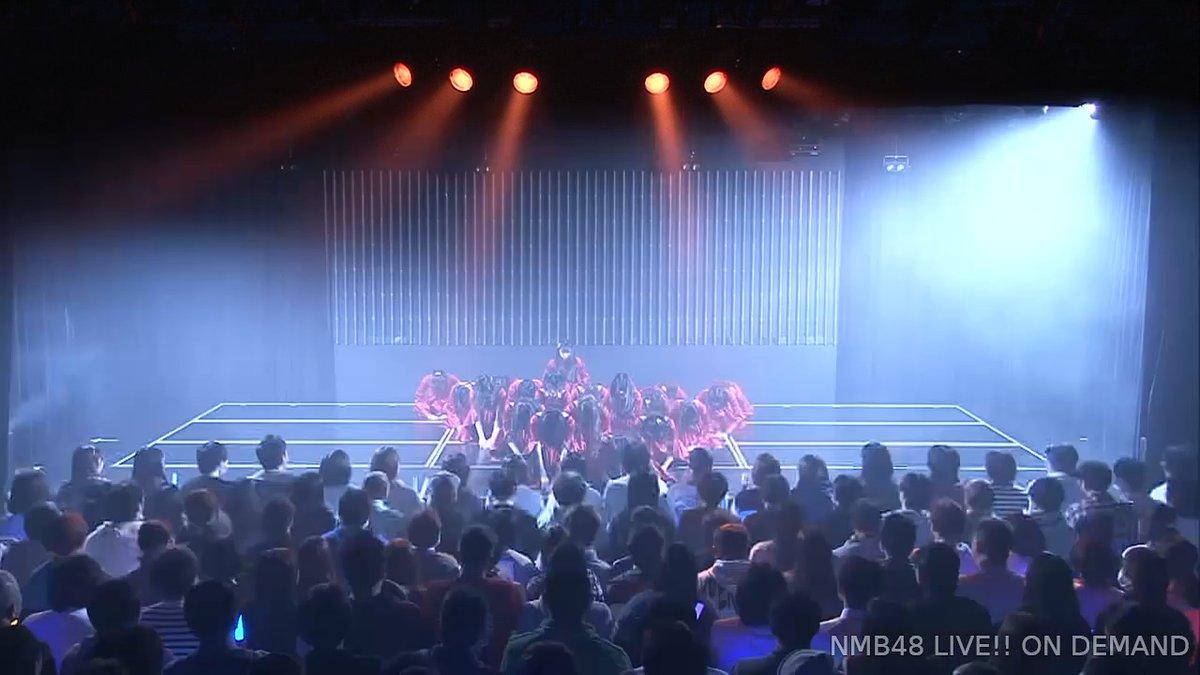 【NMB48】チームBⅡ「恋愛禁止条例」公演千秋楽で20thシングル「床の間正座娘」が劇場初披露。