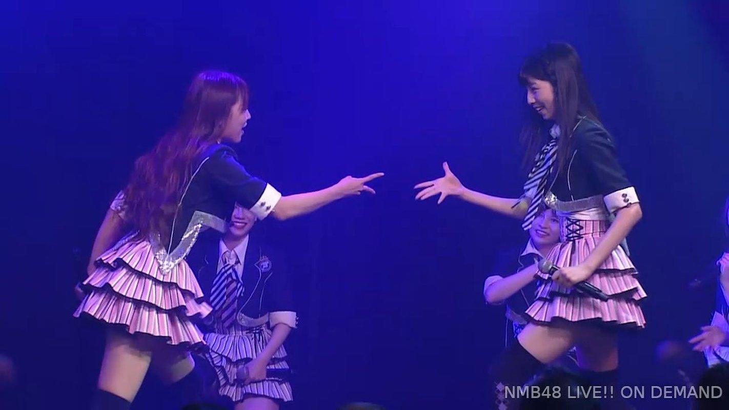 【NMB48】チームM「アイドルの夜明け」公演・千秋楽、「女子高生はやめられない」最後のじゃんけんはみるるんが勝利。
