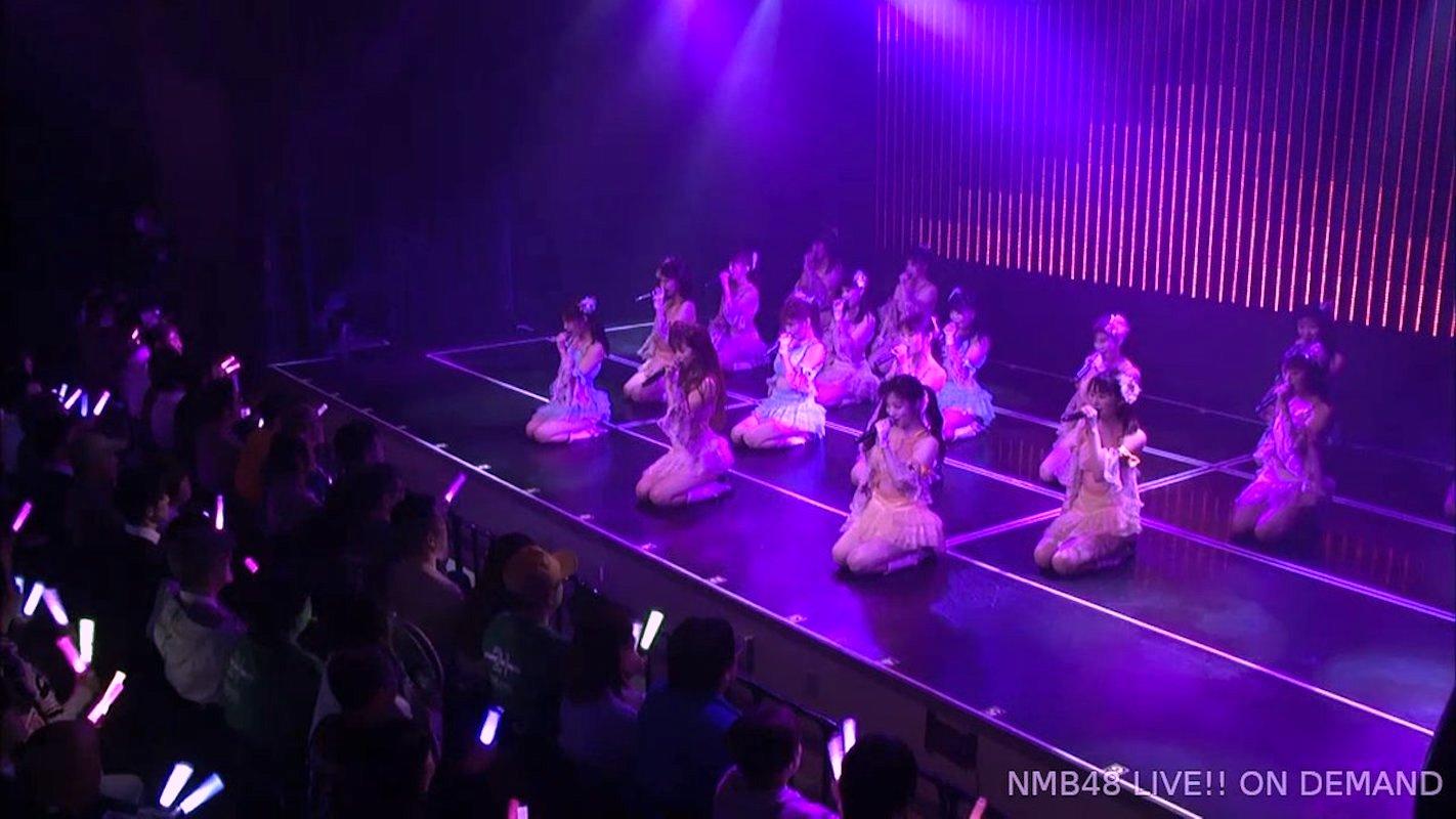 【NMB48】20thシングル「床の間正座娘」の「川上チームM」バージョンが最初で最後の披露。