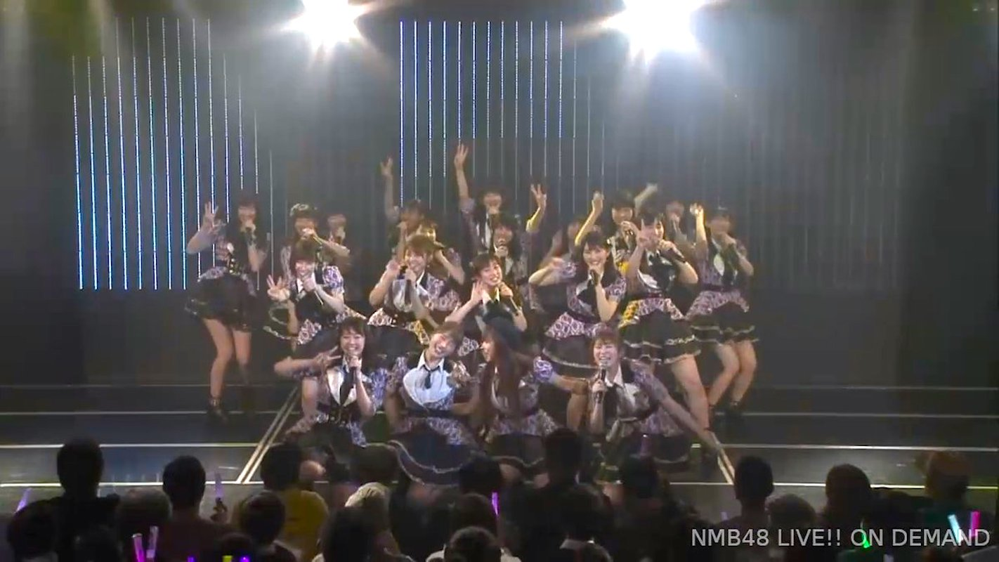 【NMB48】川上チームM「アイドルの夜明け公演千秋楽」最後の一曲は20名で「僕だけのSecret time」