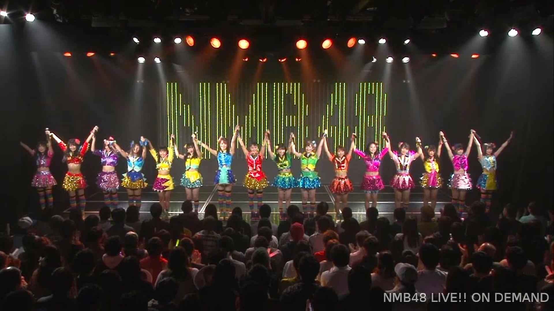 【NMB48】カトレア組「ここにだって天使はいる」千秋楽。「床の間正座娘」ウイークリーランキング1位獲得でTシャツプレゼント。