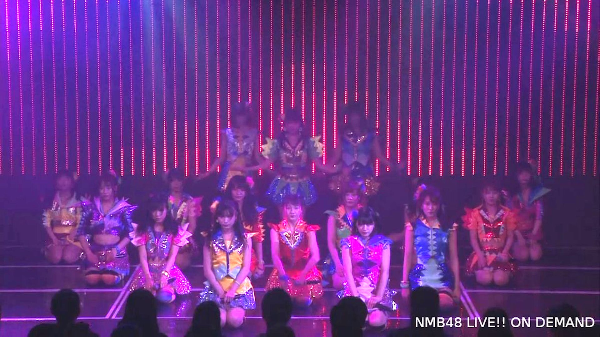 【NMB48】「ここにだって天使はいる」公演千秋楽で「床の間正座娘」カトレア組バージョンを披露。