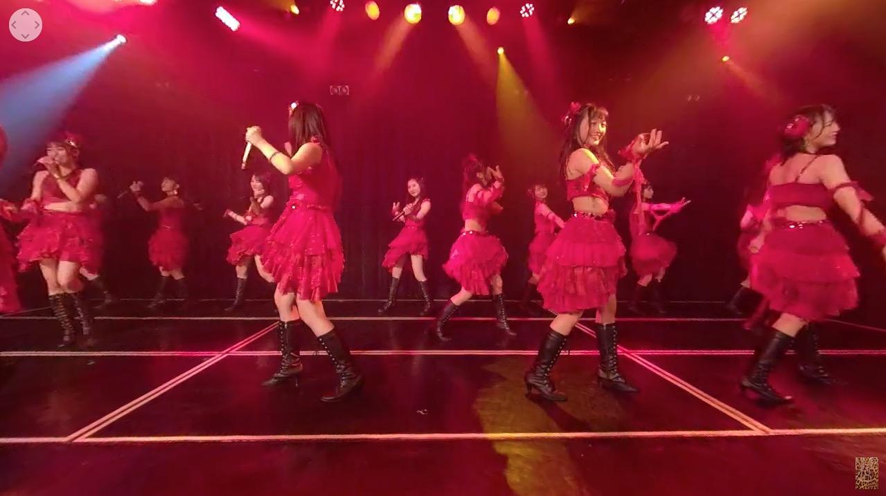 【NMB48】劇場公演VR動画、チームN「目撃者」公演から「摩天楼の距離」が公開。