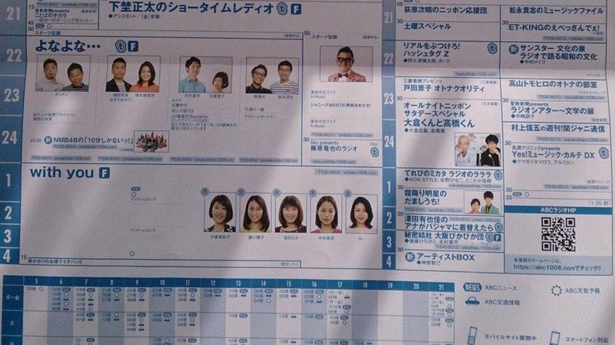 【NMB48】ABCラジオ「よなよな…」内で NMB48の「10分しかないッ!」がスタートする模様。