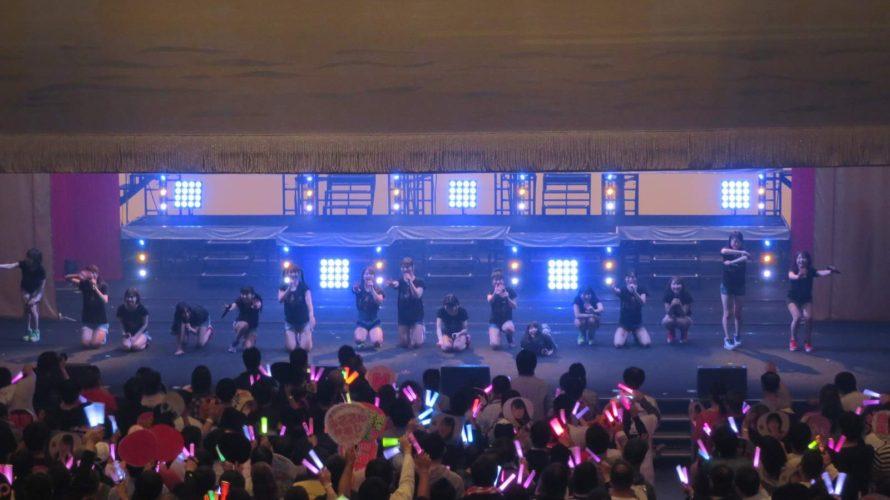 【NMB48】大阪 オリックス劇場「近畿十番勝負2019」チームM公演の画像とSNSなど。