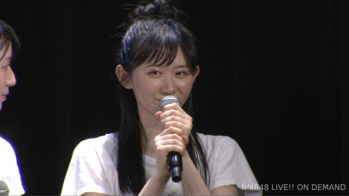【杉浦琴音】ことちゃんがNMB48の活動を一時休業。公演で発表。