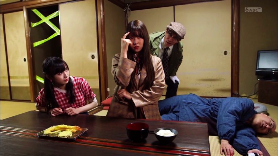 【NMB48】村瀬紗英・大田莉央奈・白間美瑠・梅山恋和・金子支配人出演「第1話」♯6の画像。ミステリードラマを作る。