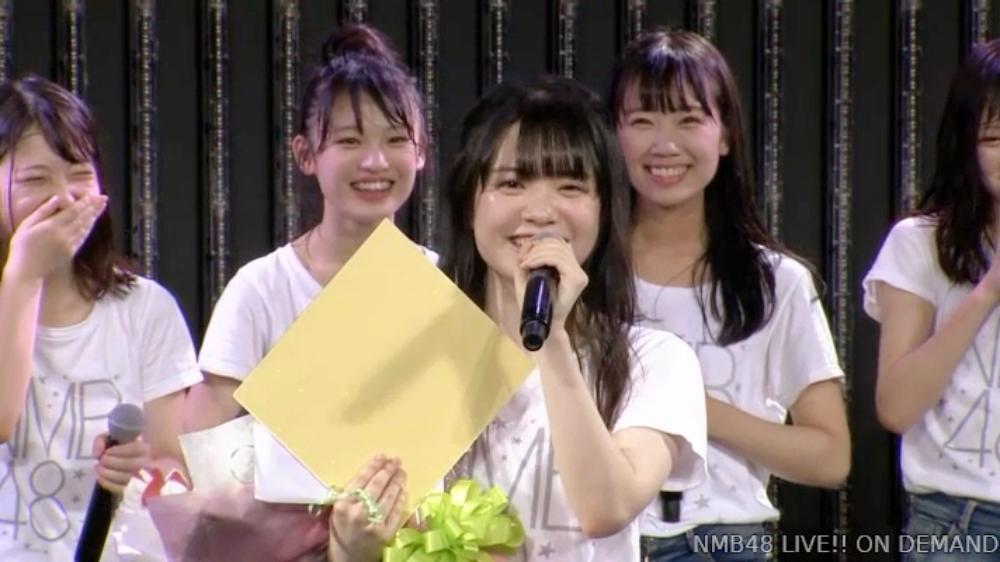 【NMB48】小川結夏21歳の生誕祭まとめ。ファンの笑顔を見ていきたい【手紙・スピーチ全文掲載】