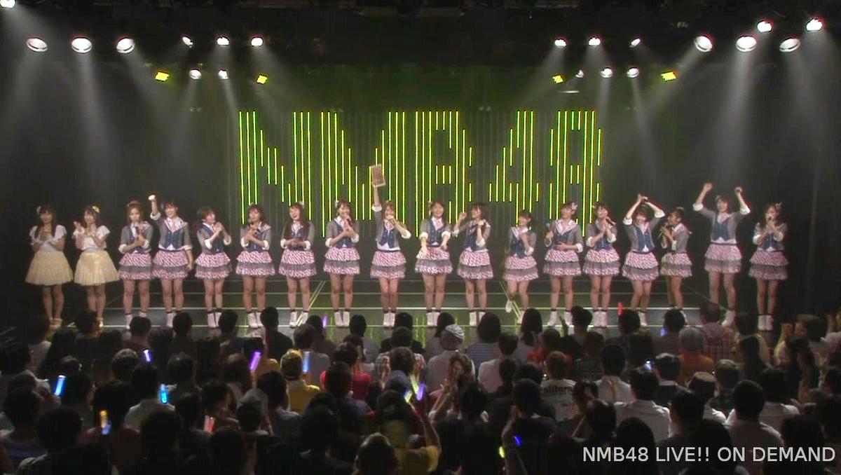 【NMB48】6/4の「難波愛〜今、小嶋が思うこと〜」公演で劇場来場者数が50万人を突破。
