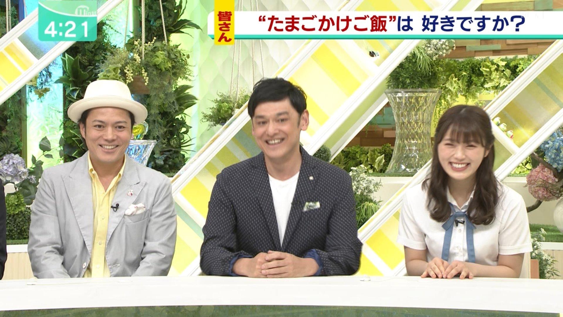 【渋谷凪咲】なぎさ出演6月19日MBSテレビ「ミント!」の画像。
