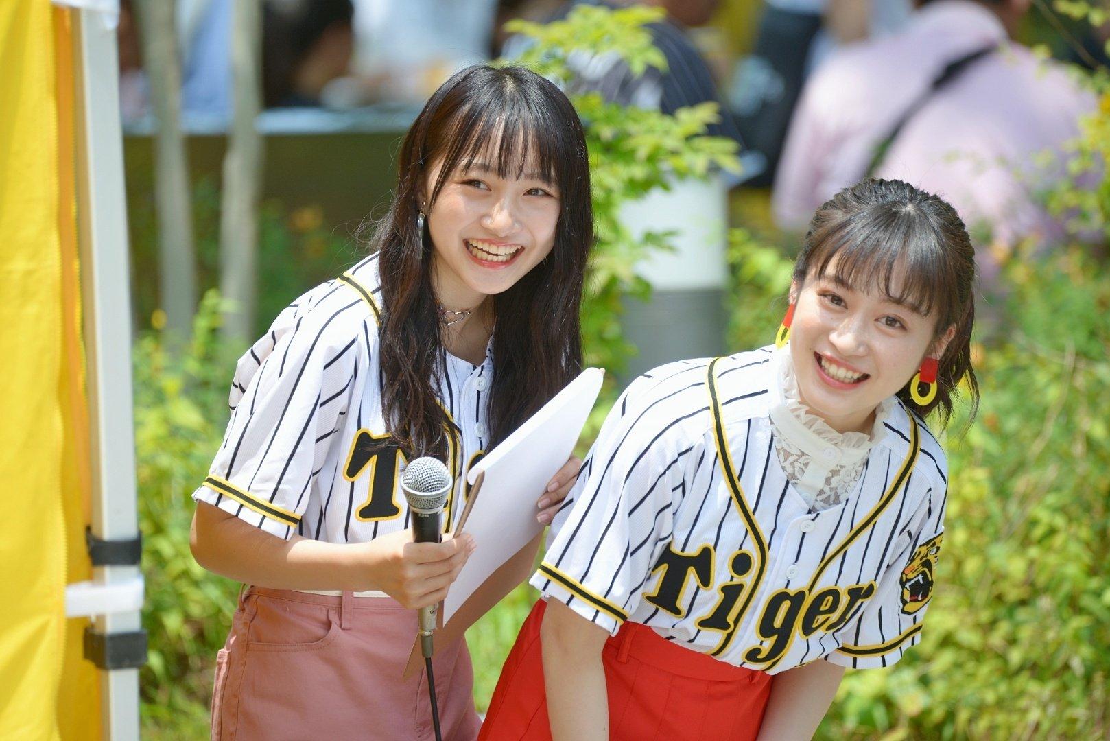 【川上千尋/山本彩加】ちっひー・あーやん参加の「甲子園肉祭り」ステージの様子など