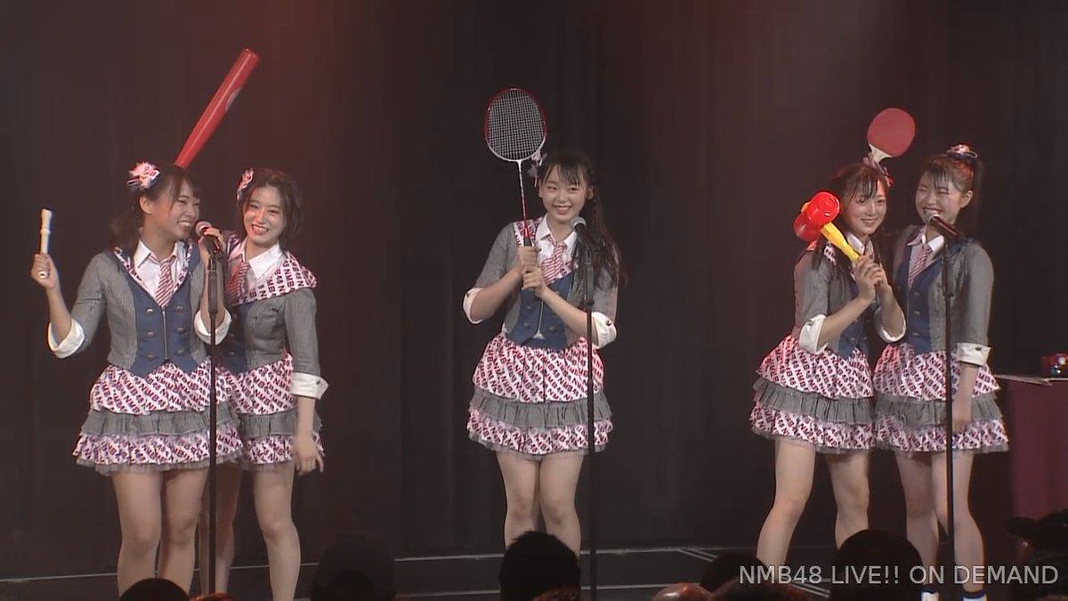 【NMB48】6/16「難波愛〜今、小嶋が思うこと〜」昼公演「なんば女学院 お笑い部」モノボケの回答