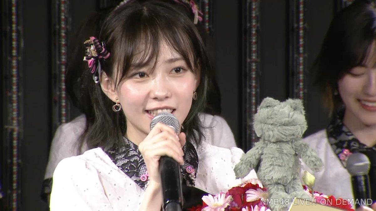 【NMB48】石塚朱莉22歳の生誕祭まとめ。新しいコンテンツと選抜入り宣言【手紙・スピーチ全文掲載】