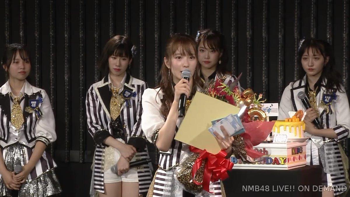 【NMB48】小嶋花梨20歳の生誕祭まとめ。ファンの笑顔を今まで以上に沢山見れるような1年に【手紙・スピーチ全文有】