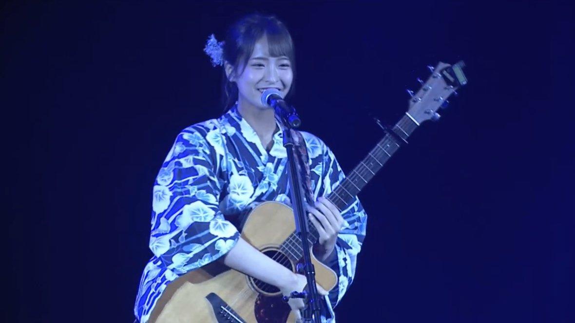 【NMB48】7月27日冠ライブ企画・清水里香出演「夏祭りかてぃー」セットリストと画像など。