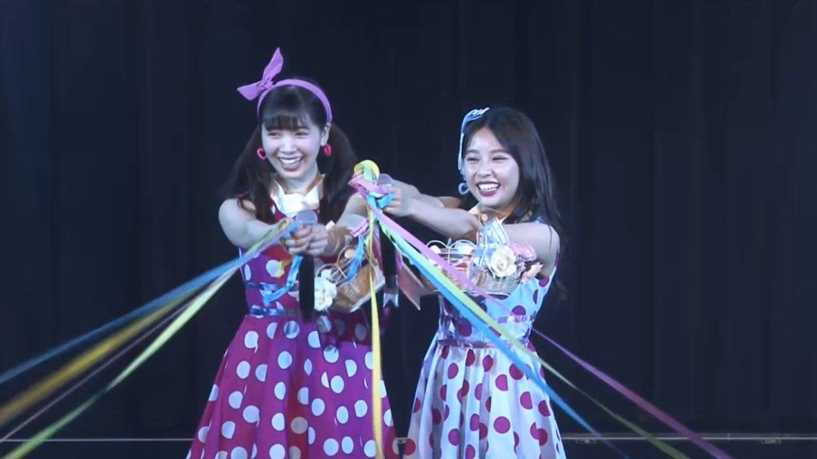 【NMB48】7月27日冠ライブ 山尾梨奈・安田桃寧出演「2人部屋」のセットリストと画像など。