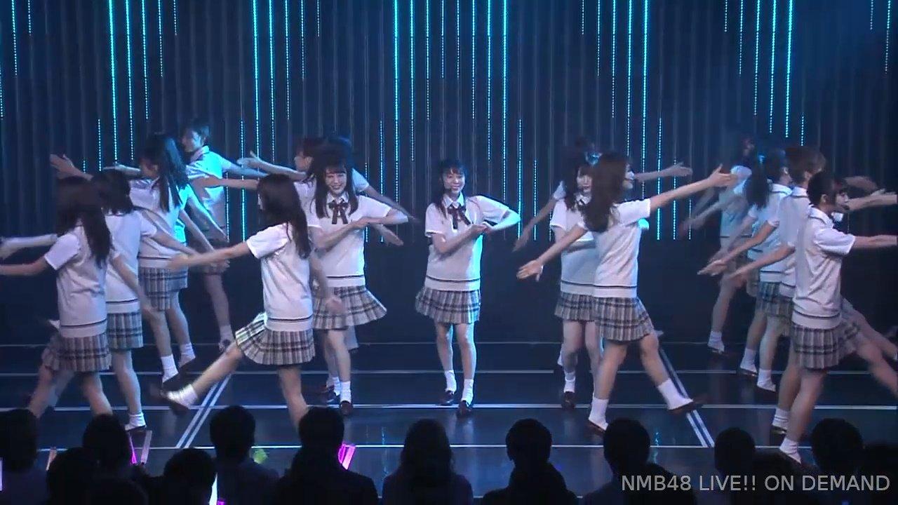【NMB48】新選抜メンバーが登場し21stシングル「母校へ帰れ!」を劇場で披露。