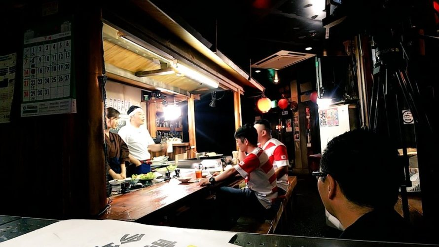 【渋谷凪咲】よしもとラグビーchで公開予定「中川屋」の看板娘になぎさ。