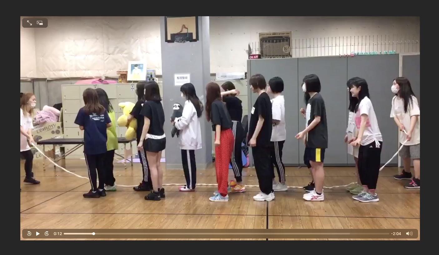 【NMB48】チームNの日常シリーズ「大縄跳び50回チャレンジ」が公開