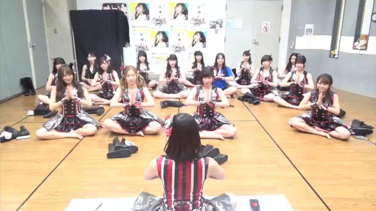 【NMB48】「チームNの日常」シリーズ「公演前のヨガ教室」動画が公開
