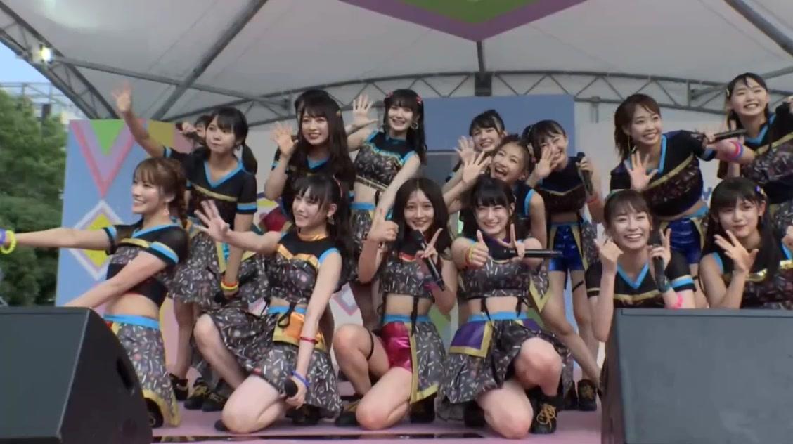 【NMB48】チームBⅡ出演「TIF 2019 Tシャツステージ・SMILE GARDEN」の画像とセットリスト。
