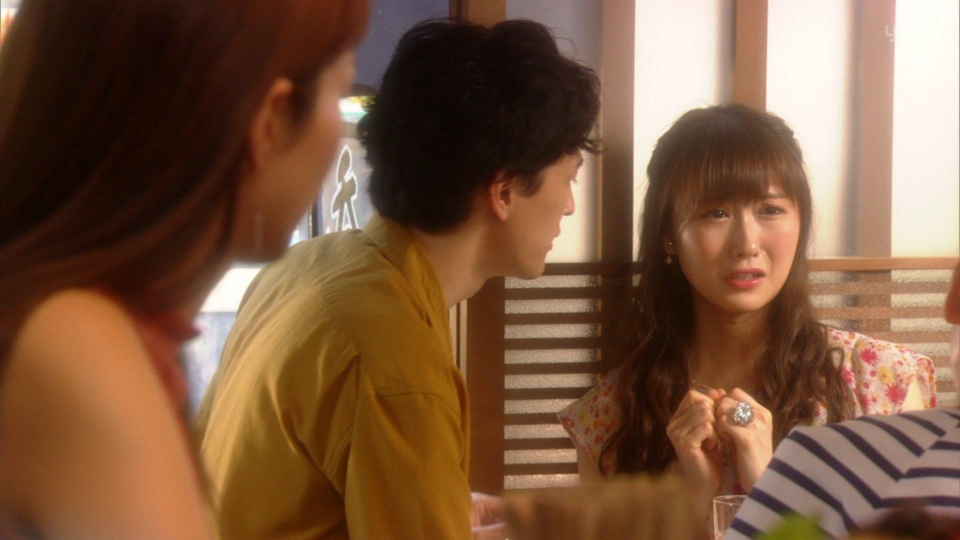 【矢倉楓子】ふぅちゃん、ドラマ「偽装不倫」に登場。