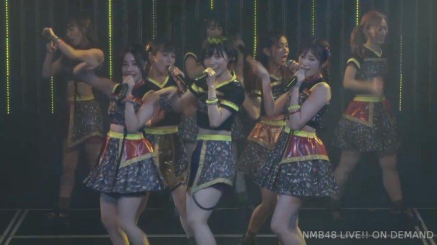 【NMB48】21stシングル「母校へ帰れ!」のチームNバージョンが劇場で初披露