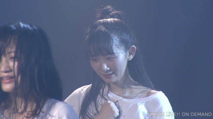 2019年8月27日NMB48研究生「夢は逃げない公演」で復帰した杉浦琴音の画像