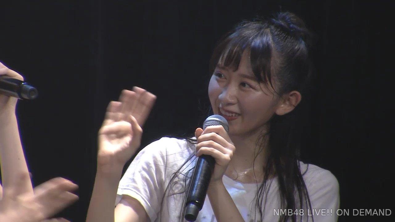 2019年8月27日NMB48研究生「夢は逃げない公演」で復帰した杉浦琴音の画像-072