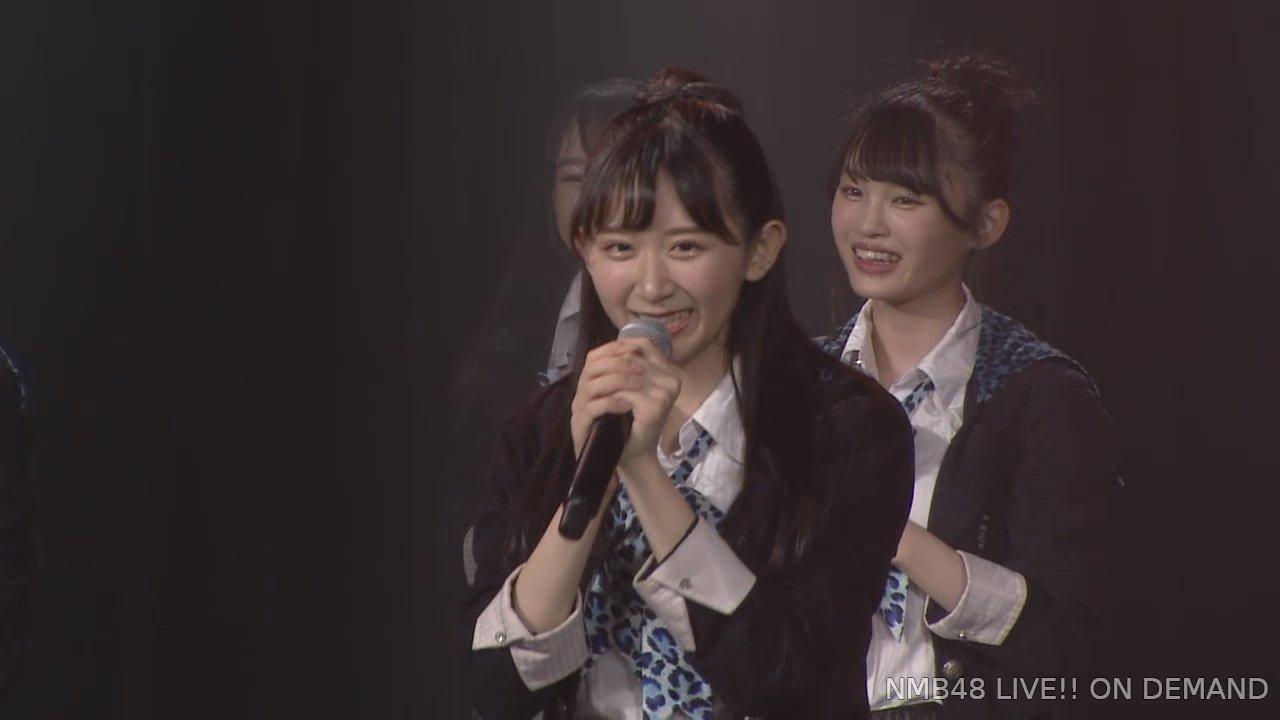 2019年8月27日NMB48研究生「夢は逃げない公演」で復帰した杉浦琴音の画像-042