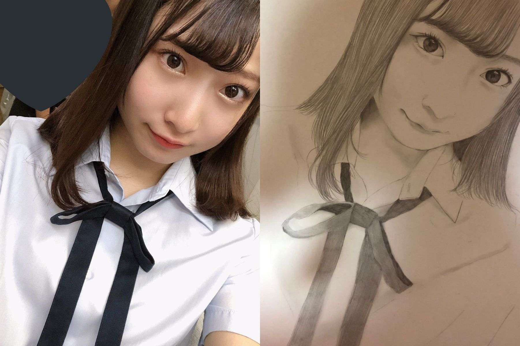 【堀ノ内百香】ももかのお姉さんが描いたももかの絵…画力がスゴイ😳