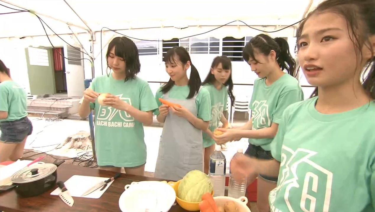 2019年8月18日新YNN NMB48 CHANNELで放送された「BACHI BACHI CAMP」の画像-379