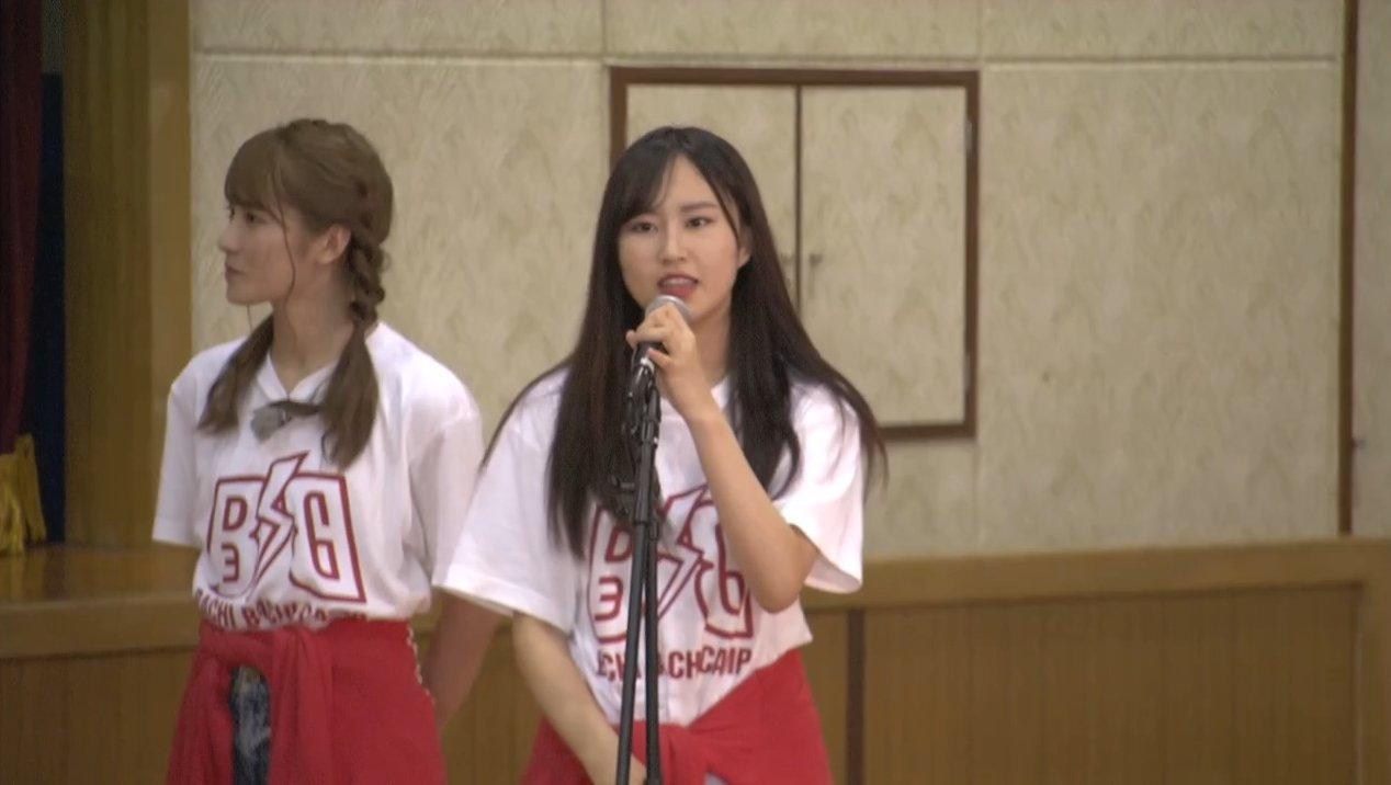 2019年8月18日新YNN NMB48 CHANNELで放送された「BACHI BACHI CAMP」の画像-2105