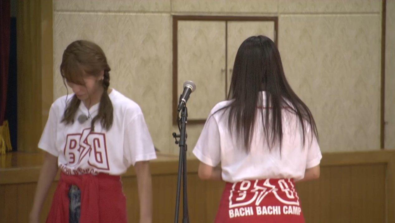 2019年8月18日新YNN NMB48 CHANNELで放送された「BACHI BACHI CAMP」の画像-2109