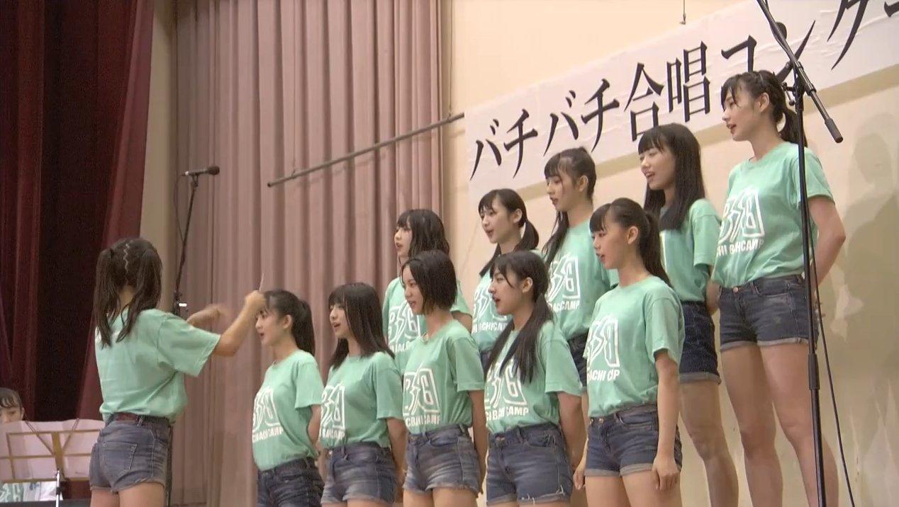 2019年8月18日新YNN NMB48 CHANNELで放送された「BACHI BACHI CAMP」の画像-2237