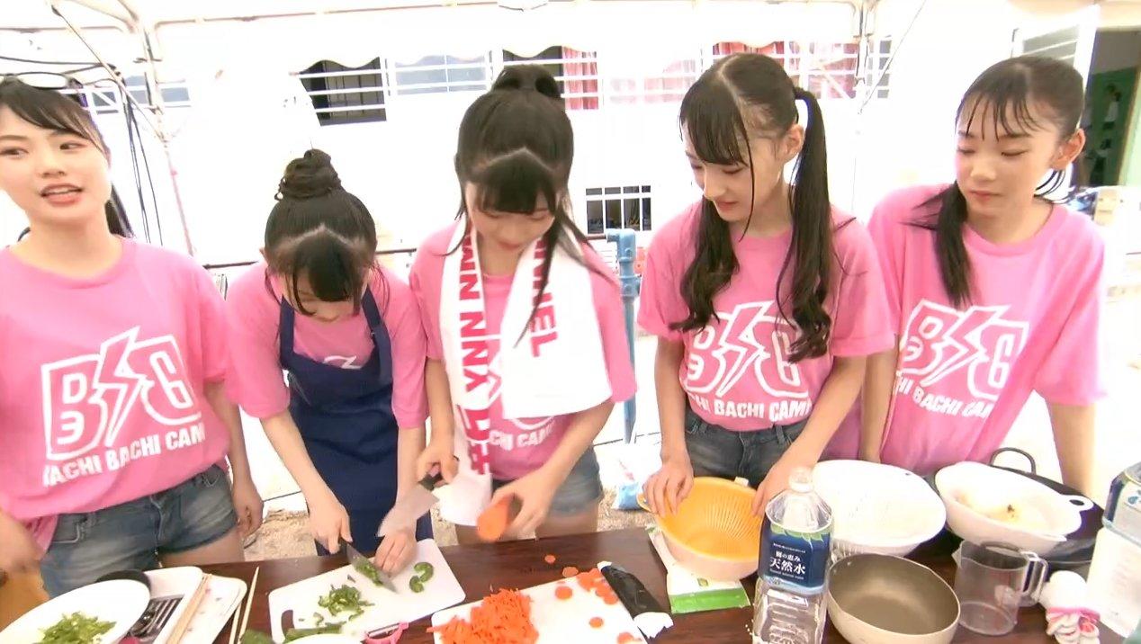 2019年8月18日新YNN NMB48 CHANNELで放送された「BACHI BACHI CAMP」の画像-391