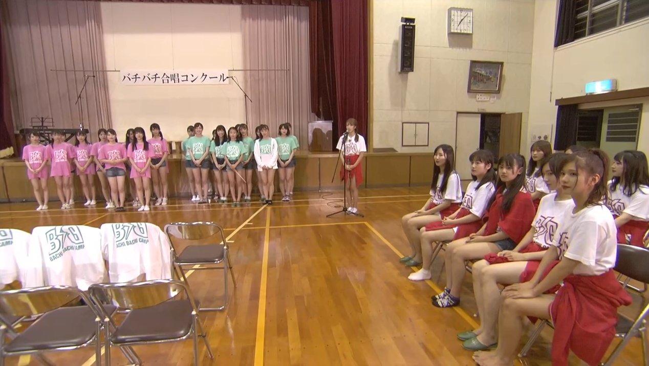 2019年8月18日新YNN NMB48 CHANNELで放送された「BACHI BACHI CAMP」の画像-2254