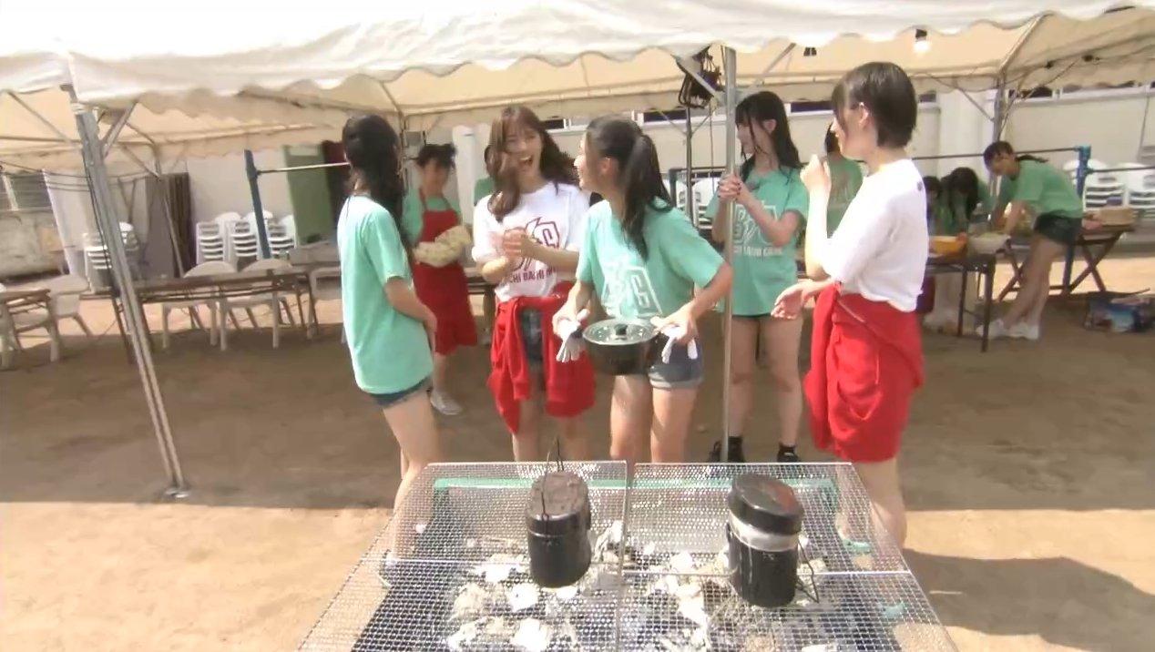 2019年8月18日新YNN NMB48 CHANNELで放送された「BACHI BACHI CAMP」の画像-415