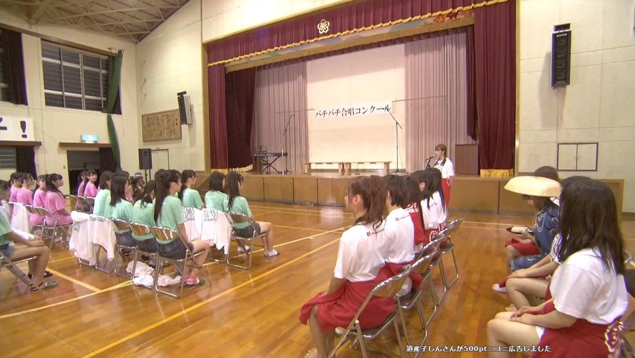 2019年8月18日新YNN NMB48 CHANNELで放送された「BACHI BACHI CAMP」の画像-2323