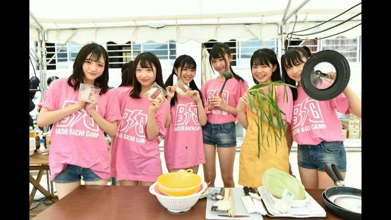 2019年8月18日新YNN NMB48 CHANNELで放送された「BACHI BACHI CAMP」の画像-2341
