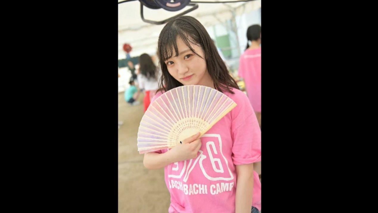 2019年8月18日新YNN NMB48 CHANNELで放送された「BACHI BACHI CAMP」の画像-2343