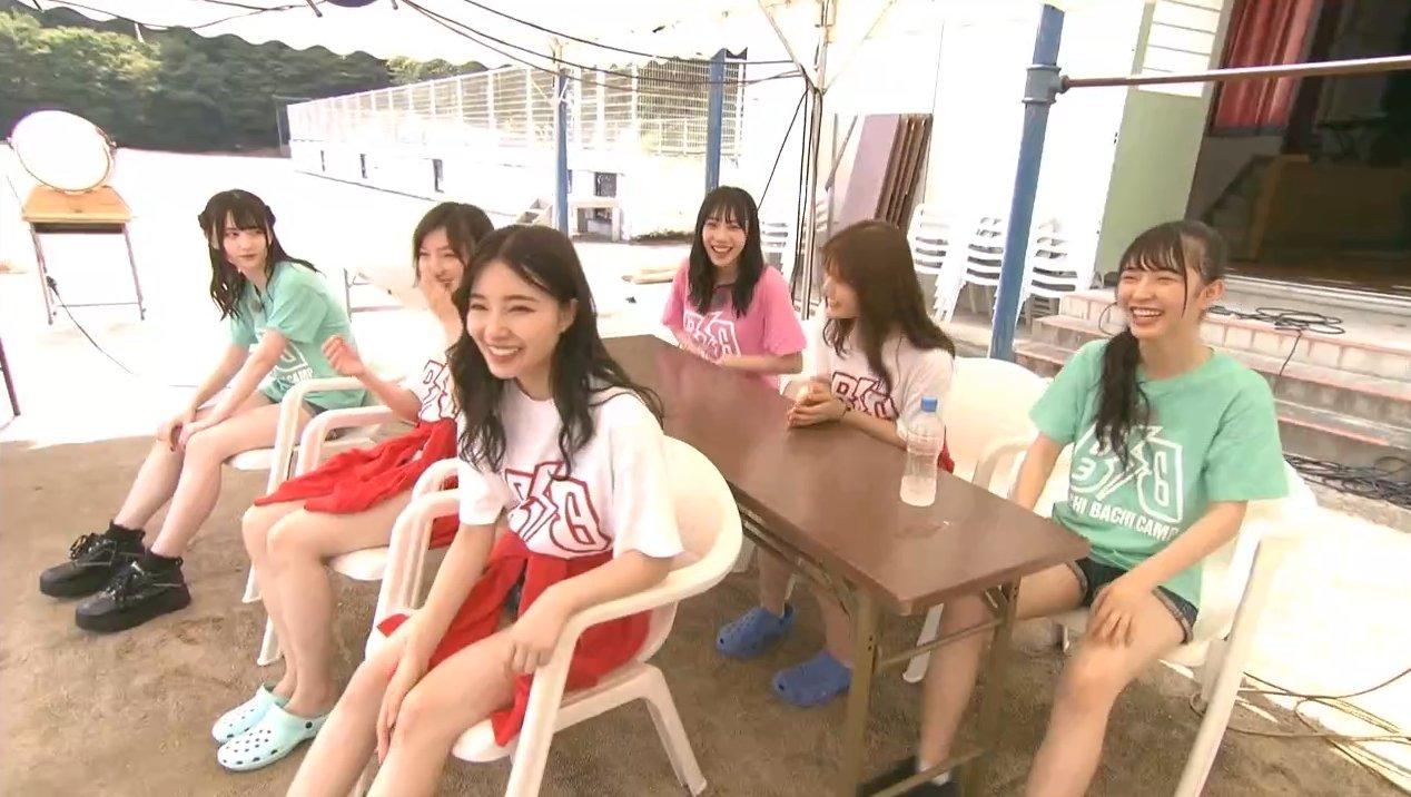2019年8月18日新YNN NMB48 CHANNELで放送された「BACHI BACHI CAMP」の画像-434